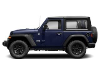 Ocean Blue Metallic Clearcoat 2018 Jeep Wrangler Pictures Wrangler Utility 2D Rubicon 4WD V6 photos side view