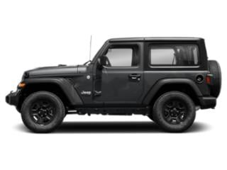 Sting-Gray Clearcoat 2018 Jeep Wrangler Pictures Wrangler Sport 4x4 photos side view