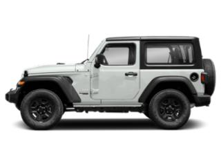 Bright White Clearcoat 2018 Jeep Wrangler Pictures Wrangler Utility 2D Rubicon 4WD V6 photos side view