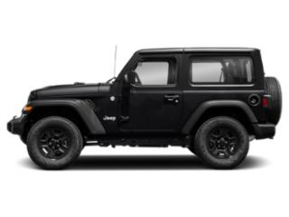 Black Clearcoat 2018 Jeep Wrangler Pictures Wrangler Rubicon 4x4 photos side view