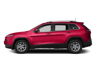 Firecracker Red Clearcoat 2018 Jeep Cherokee Pictures Cherokee Utility 4D Latitude 4WD photos side view