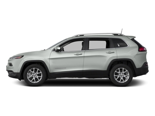 Bright White Clearcoat 2018 Jeep Cherokee Pictures Cherokee Utility 4D Latitude Plus 4WD photos side view