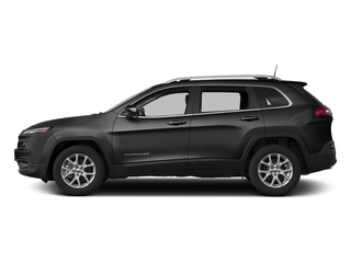 Diamond Black Crystal Pearlcoat 2018 Jeep Cherokee Pictures Cherokee Utility 4D Latitude Plus 4WD photos side view