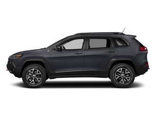 Rhino Clearcoat 2018 Jeep Cherokee Pictures Cherokee Utility 4D Trailhawk 4WD photos side view