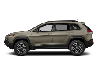 Light Brownstone Pearlcoat 2018 Jeep Cherokee Pictures Cherokee Utility 4D Trailhawk 4WD photos side view