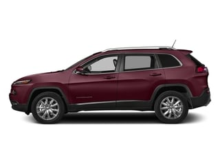 Velvet Red Pearlcoat 2018 Jeep Cherokee Pictures Cherokee Limited FWD photos side view