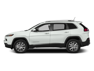 Bright White Clearcoat 2018 Jeep Cherokee Pictures Cherokee Limited FWD photos side view