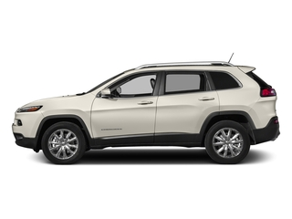 Pearl White Clearcoat 2018 Jeep Cherokee Pictures Cherokee Limited FWD photos side view