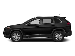 Diamond Black Crystal Pearlcoat 2018 Jeep Cherokee Pictures Cherokee Limited FWD photos side view