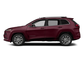 Velvet Red Pearlcoat 2018 Jeep Cherokee Pictures Cherokee Utility 4D Overland 4WD photos side view