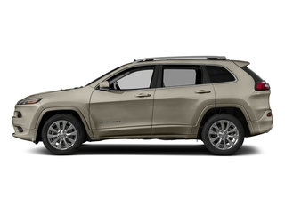 Light Brownstone Pearlcoat 2018 Jeep Cherokee Pictures Cherokee Utility 4D Overland 4WD photos side view