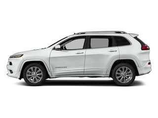 Bright White Clearcoat 2018 Jeep Cherokee Pictures Cherokee Utility 4D Overland 4WD photos side view