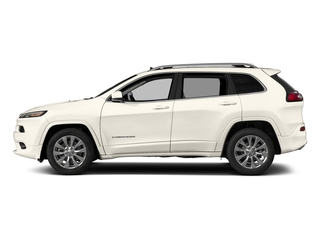 Pearl White Clearcoat 2018 Jeep Cherokee Pictures Cherokee Utility 4D Overland 4WD photos side view