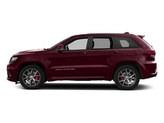 Velvet Red Pearlcoat 2018 Jeep Grand Cherokee Pictures Grand Cherokee Utility 4D SRT-8 4WD photos side view