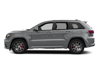 Billet Silver Metallic Clearcoat 2018 Jeep Grand Cherokee Pictures Grand Cherokee Utility 4D SRT-8 4WD photos side view