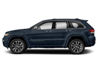 True Blue Pearlcoat 2018 Jeep Grand Cherokee Pictures Grand Cherokee Utility 4D Overland 2WD T-Dsl photos side view