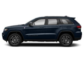 True Blue Pearlcoat 2018 Jeep Grand Cherokee Pictures Grand Cherokee Utility 4D Trailhawk 4WD V6 T-Dsl photos side view