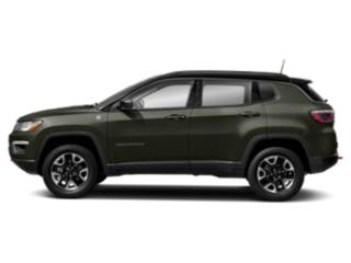 Olive Green Pearlcoat 2018 Jeep Compass Pictures Compass Trailhawk 4x4 photos side view