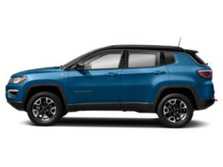 Laser Blue Pearlcoat 2018 Jeep Compass Pictures Compass Trailhawk 4x4 photos side view