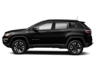 Diamond Black Crystal Pearlcoat 2018 Jeep Compass Pictures Compass Trailhawk 4x4 photos side view