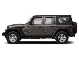 Granite Crystal Metallic Clearcoat 2018 Jeep Wrangler Unlimited Pictures Wrangler Unlimited Utility 4D Sport 4WD V6 photos side view
