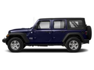 Ocean Blue Metallic Clearcoat 2018 Jeep Wrangler Unlimited Pictures Wrangler Unlimited Moab 4x4 photos side view