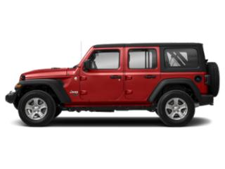 Firecracker Red Clearcoat 2018 Jeep Wrangler Unlimited Pictures Wrangler Unlimited Moab 4x4 photos side view