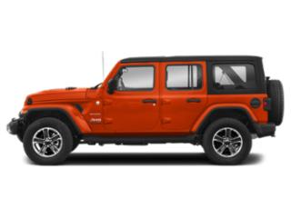 Punkn Metallic Clearcoat 2018 Jeep Wrangler Unlimited Pictures Wrangler Unlimited Utility 4D Sahara 4WD V6 photos side view
