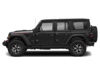 Black Clearcoat 2018 Jeep Wrangler Unlimited Pictures Wrangler Unlimited Utility 4D Rubicon 4WD V6 photos side view