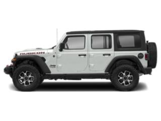 Bright White Clearcoat 2018 Jeep Wrangler Unlimited Pictures Wrangler Unlimited Utility 4D Rubicon 4WD V6 photos side view