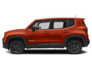 Omaha Orange 2018 Jeep Renegade Pictures Renegade Utility 4D Sport 2WD photos side view