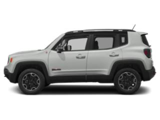 Alpine White 2018 Jeep Renegade Pictures Renegade Utility 4D Trailhawk 4WD photos side view