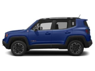Jetset Blue 2018 Jeep Renegade Pictures Renegade Utility 4D Trailhawk 4WD photos side view