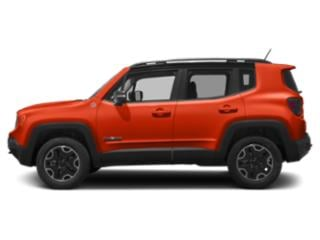 Omaha Orange 2018 Jeep Renegade Pictures Renegade Utility 4D Trailhawk 4WD photos side view
