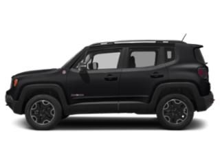 Black 2018 Jeep Renegade Pictures Renegade Utility 4D Trailhawk 4WD photos side view