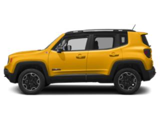 Solar Yellow 2018 Jeep Renegade Pictures Renegade Utility 4D Trailhawk 4WD photos side view