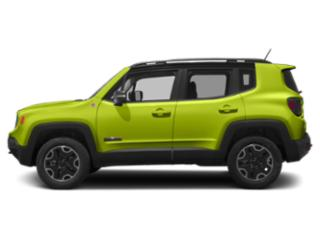 Hypergreen Clearcoat 2018 Jeep Renegade Pictures Renegade Utility 4D Trailhawk 4WD photos side view