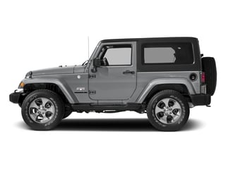 Billet Silver Metallic Clearcoat 2018 Jeep Wrangler JK Pictures Wrangler JK Utility 2D Sahara 4WD photos side view