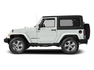 Bright White Clearcoat 2018 Jeep Wrangler JK Pictures Wrangler JK Sahara 4x4 photos side view