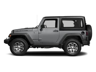 Billet Silver Metallic Clearcoat 2018 Jeep Wrangler JK Pictures Wrangler JK Utility 2D Rubicon Recon 4WD V6 photos side view