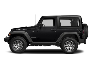 Black Clearcoat 2018 Jeep Wrangler JK Pictures Wrangler JK Utility 2D Rubicon Recon 4WD V6 photos side view