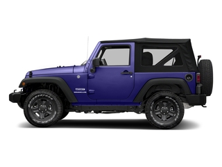 Xtreme Purple Pearlcoat 2018 Jeep Wrangler JK Pictures Wrangler JK Utility 2D Sport 4WD photos side view