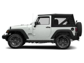 Bright White Clearcoat 2018 Jeep Wrangler JK Pictures Wrangler JK Golden Eagle 4x4 photos side view