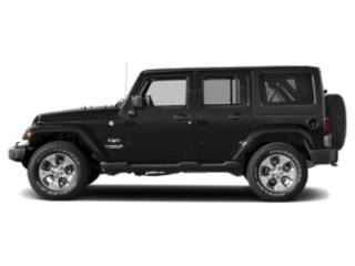 Black Clearcoat 2018 Jeep Wrangler JK Unlimited Pictures Wrangler JK Unlimited Utility 4D Unlimited Altitude 4WD V6 photos side view