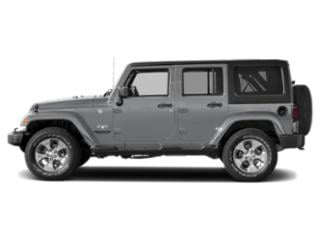 Billet Silver Metallic Clearcoat 2018 Jeep Wrangler JK Unlimited Pictures Wrangler JK Unlimited Sahara 4x4 photos side view