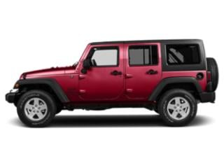 Firecracker Red Clearcoat 2018 Jeep Wrangler JK Unlimited Pictures Wrangler JK Unlimited Utility 4D Unlimited Sport 4WD photos side view