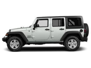 Bright White Clearcoat 2018 Jeep Wrangler JK Unlimited Pictures Wrangler JK Unlimited Utility 4D Unlimited Sport 4WD photos side view