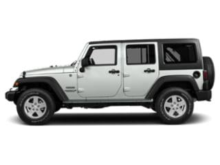 Bright White Clearcoat 2018 Jeep Wrangler JK Unlimited Pictures Wrangler JK Unlimited Sport 4x4 photos side view