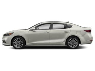 Snow White Pearl 2018 Kia Cadenza Pictures Cadenza Premium Sedan photos side view