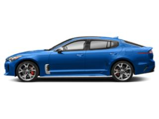 Micro Blue 2018 Kia Stinger Pictures Stinger GT1 RWD photos side view